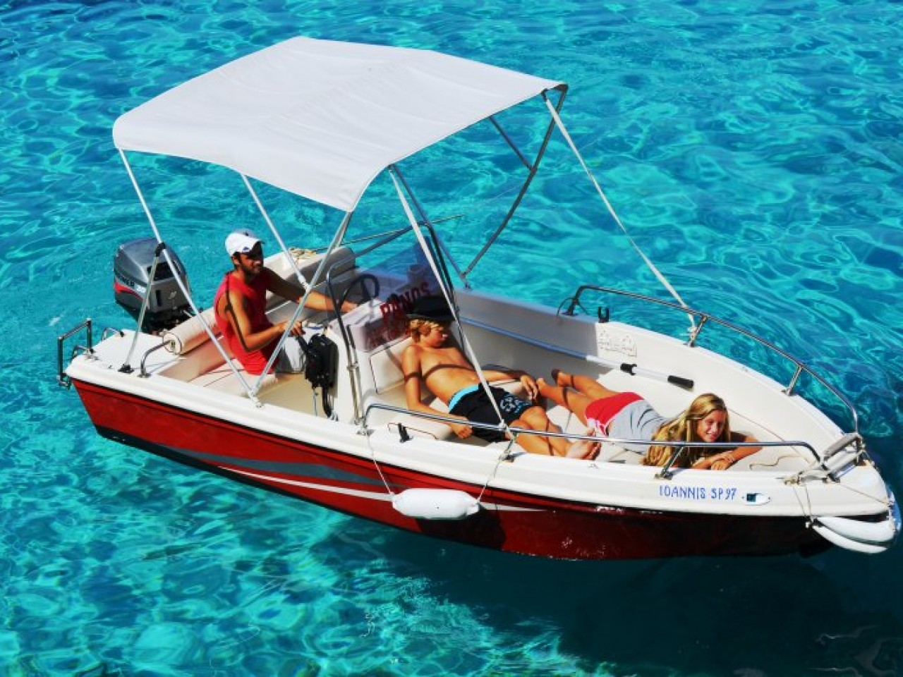 Rent a boat – Be a Captain in Sithonia Halkidiki
