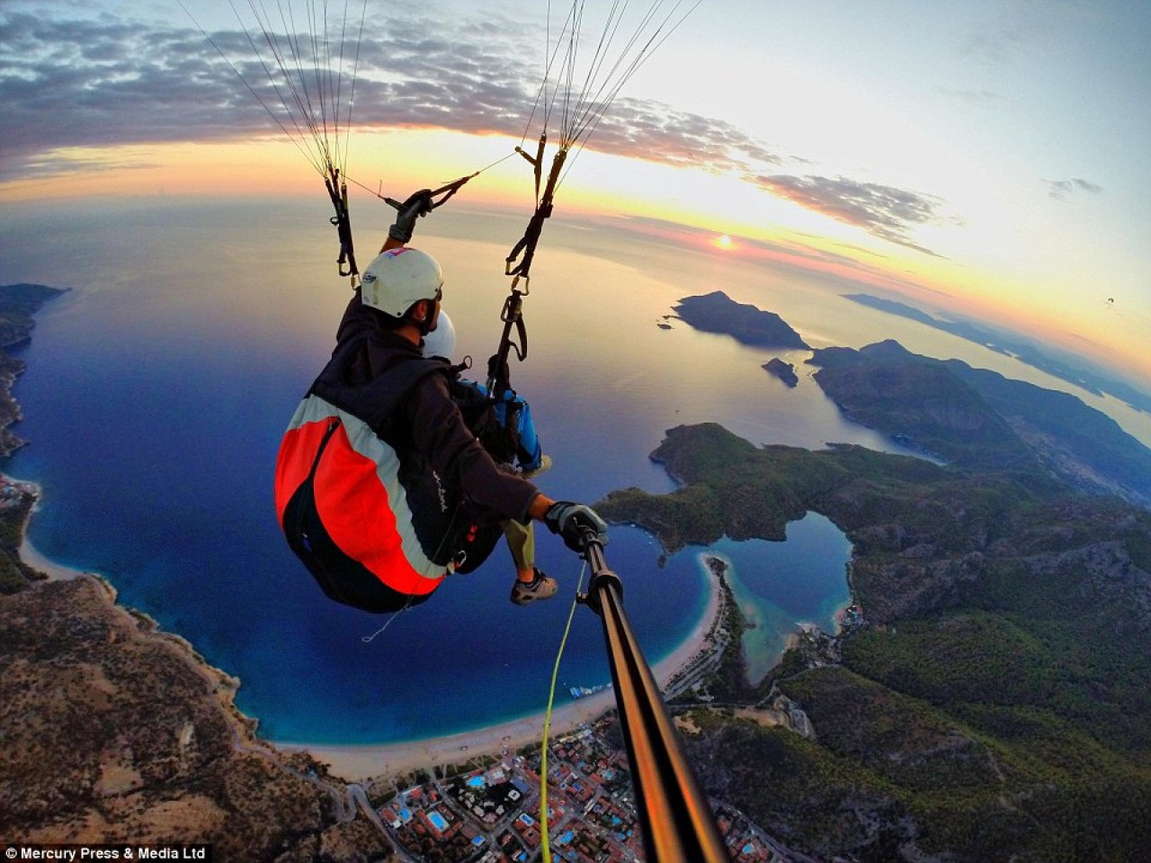 Experience Flying Over Halkidiki
