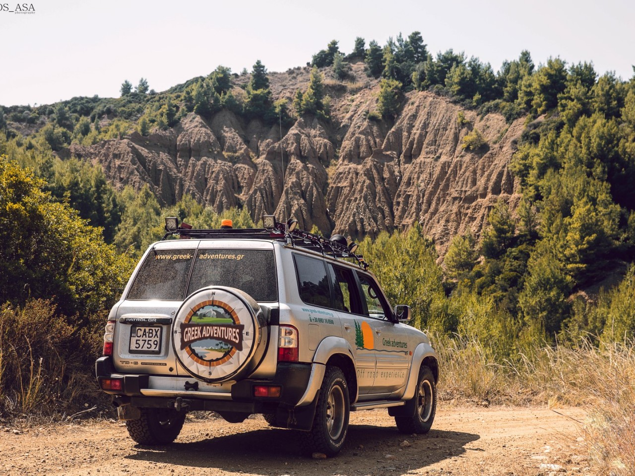 Experience Jeep Safari in Halkidiki